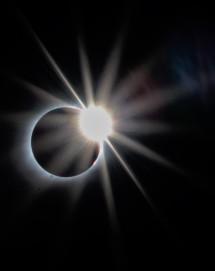 diamond ring solar eclipse